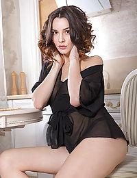 Adel Morel shows off her delectable